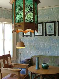 Wallpaper Designs For Dining Room Wallpaper And Paint U2014how The Twain Shall Meet Arts U0026 Crafts Homes