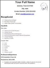 sle cv for receptionist position high school student resume high school student resume we provide
