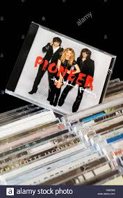 pioneer album pioneer 2nd album by the band perry cd pulled out from among rows