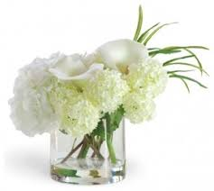 white flower centerpieces small artificial flower arrangements foter