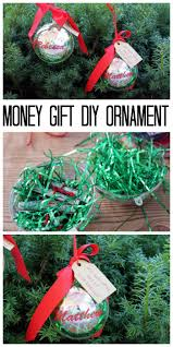 money gift diy ornament ornament gift and financial planning