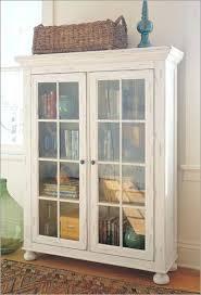 bookcase white glass door bookshelf altra white sliding glass
