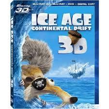 ice age 4 continental drift 3d blu ray 3d blu ray 2d dvd