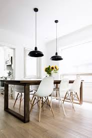 White Wood Dining Room Table by House Tour Dining Room Happy Grey Lucky
