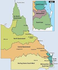 Map Of Queensland 2017 News U0026 Events