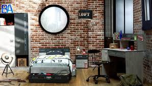 chambre style loft industriel déco chambre style loft exemples d aménagements