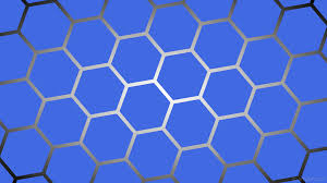 Blue And White Wallpaper by Wallpaper Grey Gradient Hexagon Black Blue White Glow 4169e1
