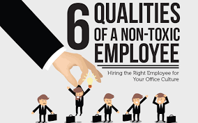 Hank U0027s Seafood Restaurant Ranked by 6 Qualities Of A Non Toxic Employee Infographic Rymax