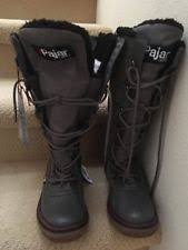 womens winter boots size 9 wide pajar boots for ebay