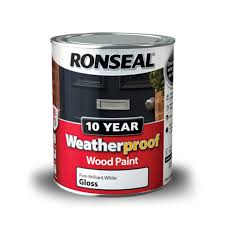 10 year weatherproof exterior wood paint ronseal