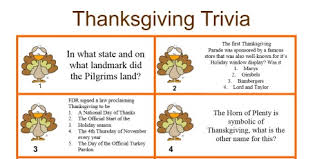 a thanksgiving trivia quiz to play during your thanksgiving