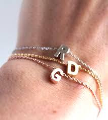 initials bracelet custom initial bracelet jewelry bracelets lumo scoutmob