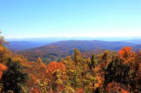 fall colors smokey mountains blue ridge mountains