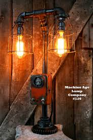 Plumbing Pipe Floor Lamp by 203 Best Machine Age Lamp Company Images On Pinterest Machine
