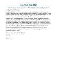 cover letter for teacher position 4 create my cover letter