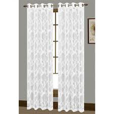Extra Wide Drapes Window Elements Avery Cotton Blend Burnout Sheer Extra Wide 108 X