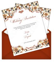 marriage invitation card sle letter style email indian wedding card design 65 email wedding