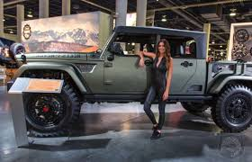 sema jeep yj sema awesome or awful are these two rag top jeeps that push the