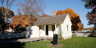 Home Cottage by Birthplace Cottage Herbert Hoover National Historic Site U S