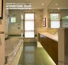 Bathroom Floor Lighting Contemporary Bathroom Lights Floor Cabinet Lighting Ideas