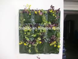 Hanging Wall Planters Upside Down Vertical Garden Hanging Wall Pocket Planter Hanging