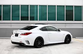 lexus rcf lowered customized lexus rc350 f sport exclusive motoring miami
