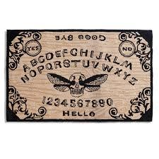 halloween doormat spirit board doormat the green head