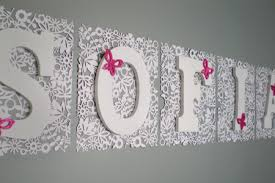need help hanging wall letters nursery u2014 thenest