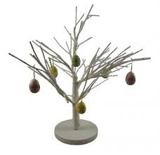 White Easter Twig Tree Table Decoration  Decorative Easter Tree