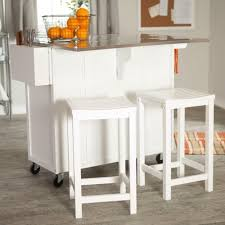 contemporary portable kitchen island with stools and design