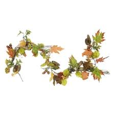 shop artificial thanksgiving garland at lowes
