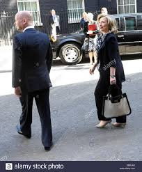 hillary clinton and william hague at 10 downing street london