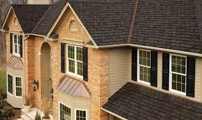 toprated roof close up photo of gaf u0027s timberline hd birchwood shingle