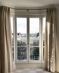 tringles pour bow window rideaux sur mesure pinterest window tringles pour bow window