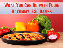 you can do with food 6 games your esl students will love