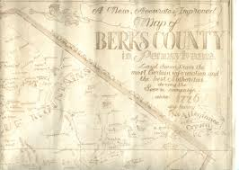 Pennsylvania County Map by Berks County Pennsylvania Maps