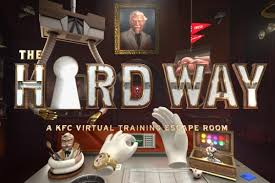 learn to fry kfc chicken via a virtual escape room hrmasia