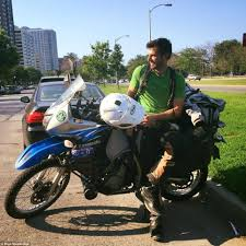 how to ride a motocross bike tech salesman quits silicon valley job to ride across america on a