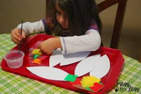 thanksgiving crafts for infants tissue paper turkey craft mess for less