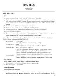 Sample Resume Automotive Technician Rd Chemist Resume Resume For Your Job Application