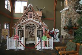 sandusky home interiors life size gingerbread house at great wolf lodge for just a 10