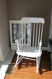 Wooden Nursery Rocking Chair Rocking Chair For 1 Year Baby In A Wooden Box Archives