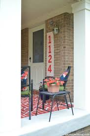 porch makeover details balancing home with megan bray