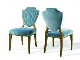 Blue Dining Chairs Galaxy Blue Polypropylene Transparent Dining Chair