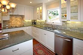 unique what color backsplash with white cabinets also home remodel
