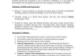 Storekeeper Resume Sample by Resume Storekeeper Resume Sample Sle Resume Budget Analyst Sample