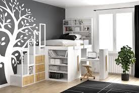 lit avec bureau coulissant lit impero de cinius avec module coulissant avec bureau lou