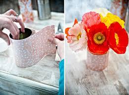 my wedding inspirations diy tin can vases