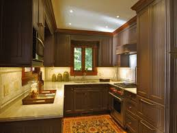 Painted Kitchen Cabinets Ideas Colors Simple Brown Painted Kitchen Cabinets A Dark Actual Inside Inspiration