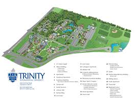 Illinois Zip Codes Map by Maps U0026 Directions Trinity International University